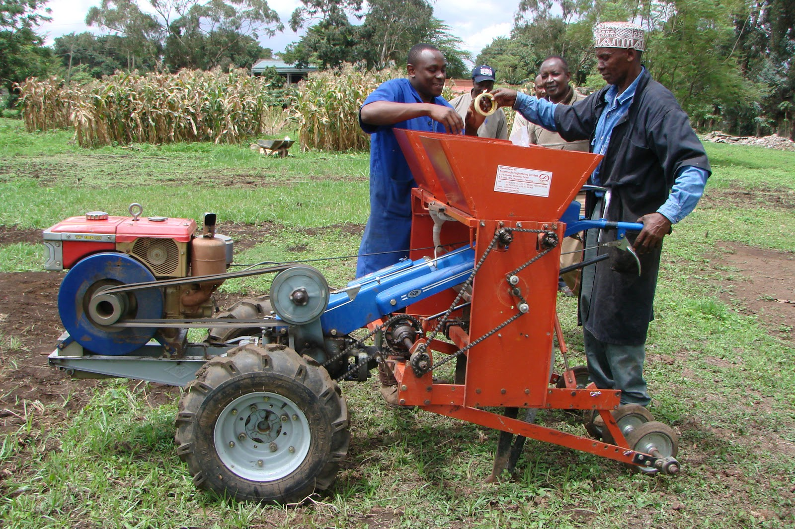 Farm Tractor 2 Wheel : Aciar giving power to african farmers