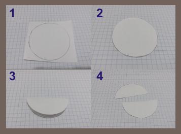 molde bolas de papel de seda