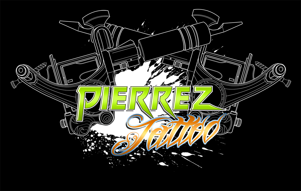 Tattoo Shop Logo Logo design - pierrez tattoo