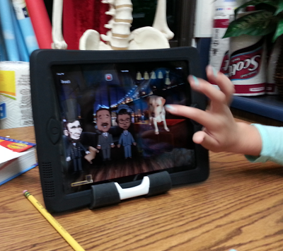 Puppet Pals on iPad