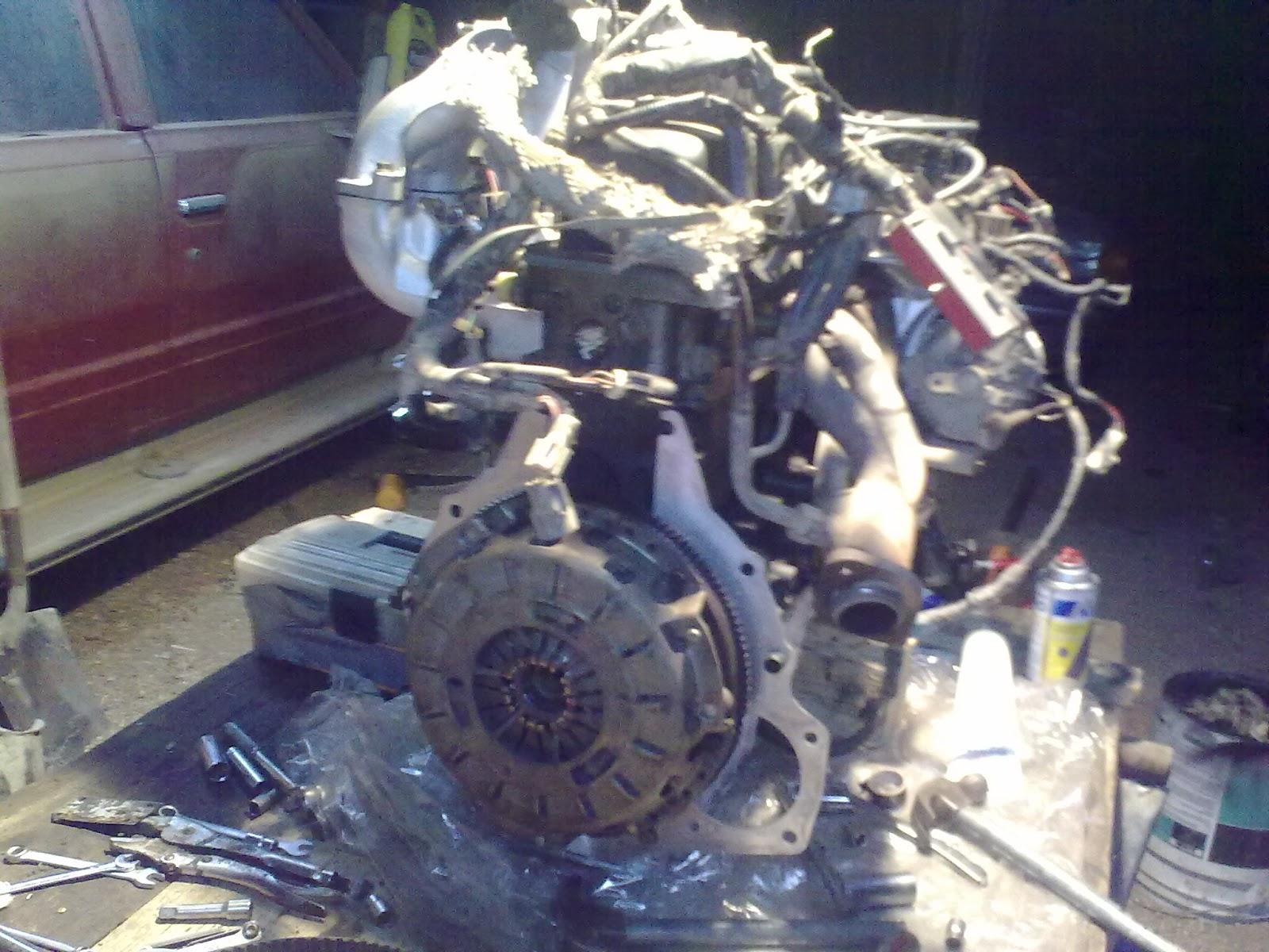 Reparé un motor (Megapost)