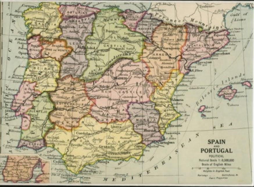1920 España, Castilla la Vieja y la Nueva