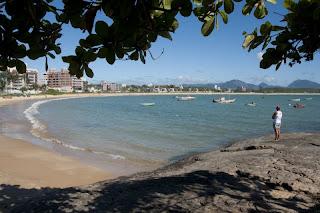 Praia De Guaibura em Guarapari ES