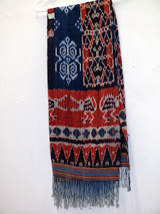 Woven Ikat from Sumba, Indonesia