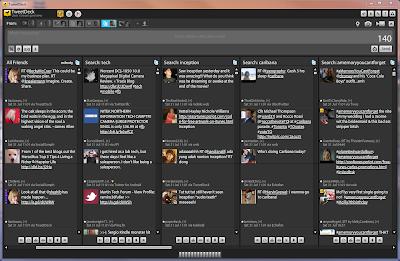 Administra varias cuentas de twitter con tweetdeck