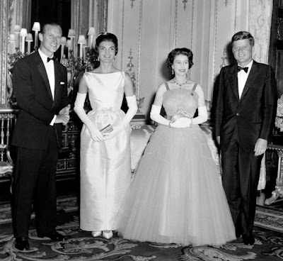 June 1961: American President John Kennedy and his wife Jacqueline