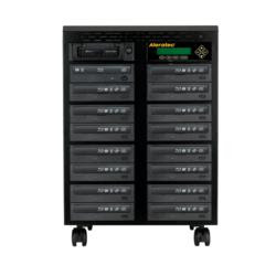 Aleratec New 15-Target Blu-ray/DVD/CD Duplicator with LightScribe