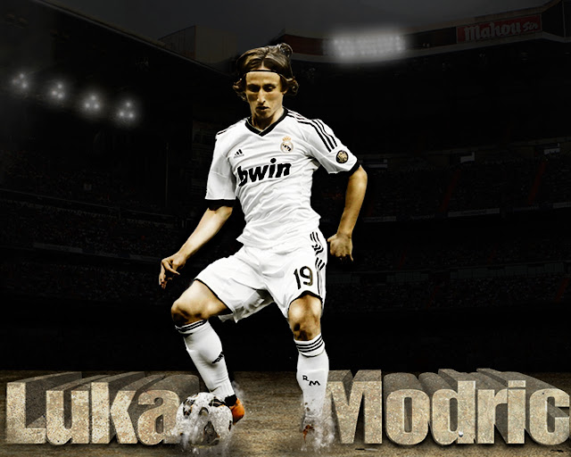 New Luka Modric wallpaper HD Real madrid 2013 - 2014