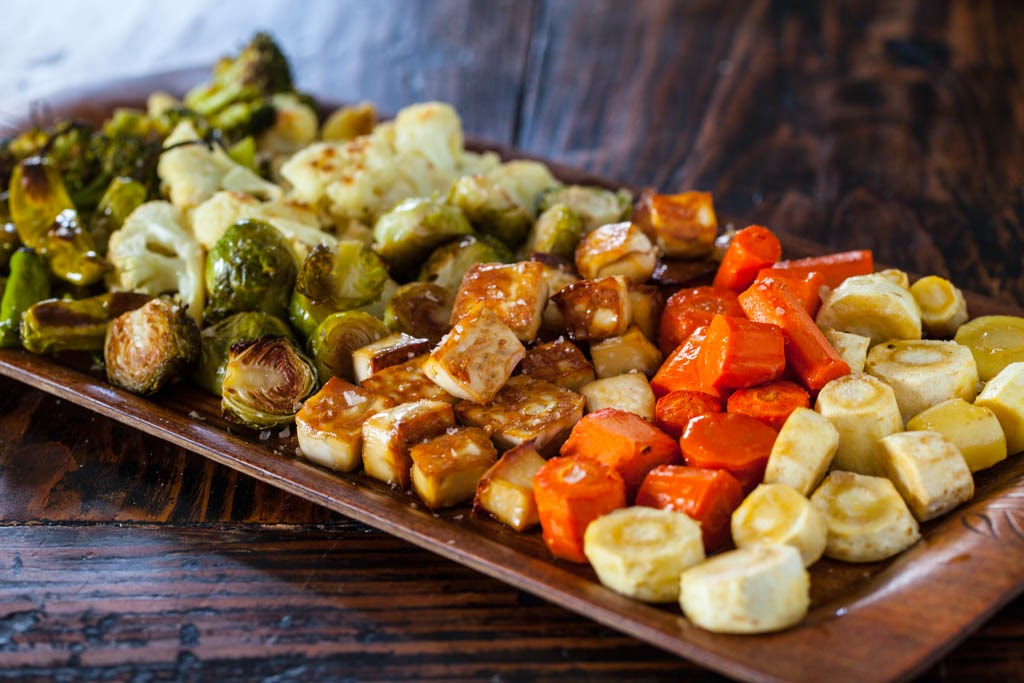 Roasted Tofu And Vegetables image