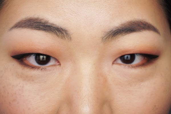 Foundation routine to cover freckles and imprefections