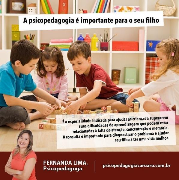 A psicopedagogia é importante para o seu filho
