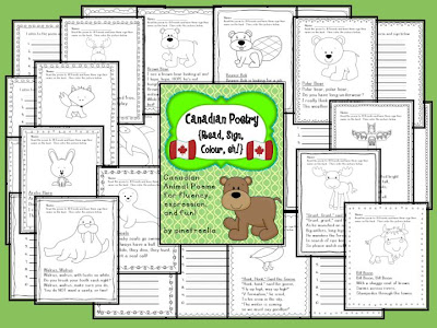 Animal Poetry - easy fun activities