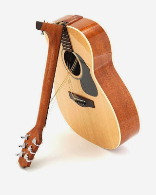 Must Have Gadgets for Guitarists - Folding Neck Guitar