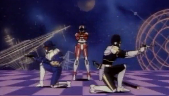 Saber Rider and the Star Sheriffs Americanized Japanese Anime 80s