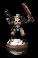 Warhammer 40000 Explorador del capítulo de los Lobos Espaciales