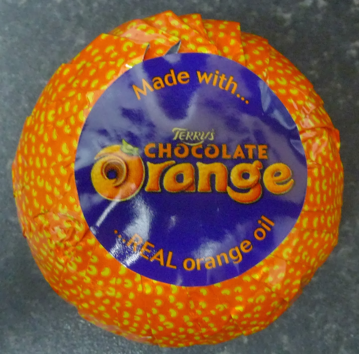Something to look forward to: Terry's Chocolate Orange: Milk