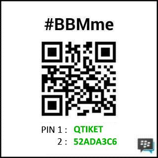 Pin BBM q tiket