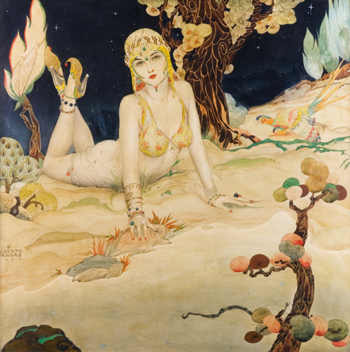 alberto vargas persian princess