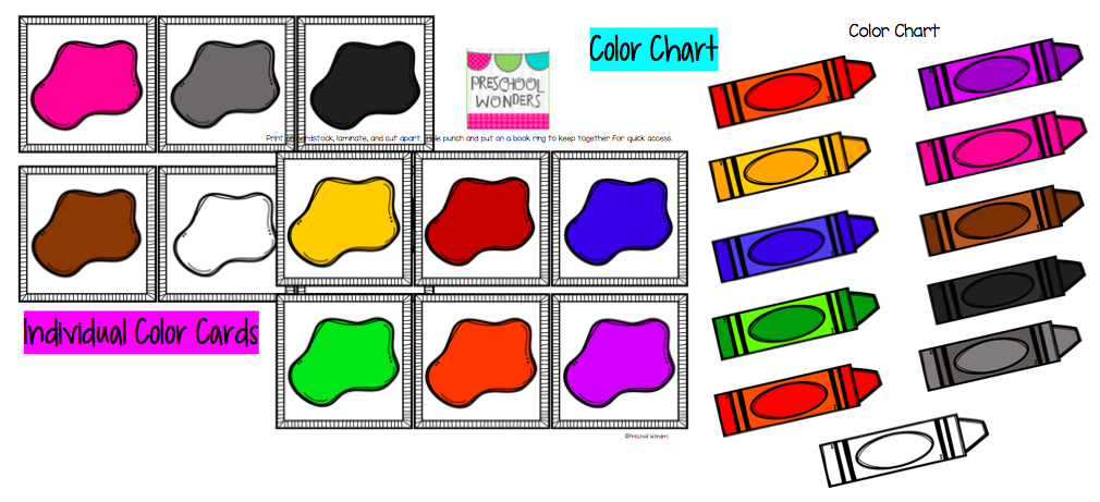 Number Names Worksheets preschool color chart : Shapes Chart For Preschool 84853 | DFILES