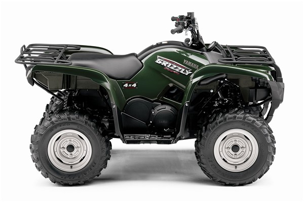 Dimensions On  Yamaha Grizzly