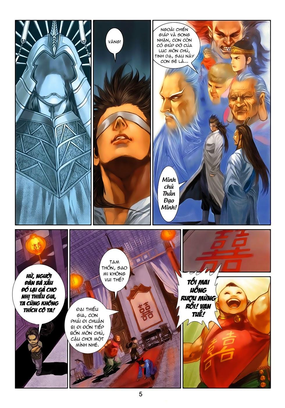 Thần Binh Tiền Truyện 4 - Huyền Thiên Tà Đế chap 10 - Trang 5