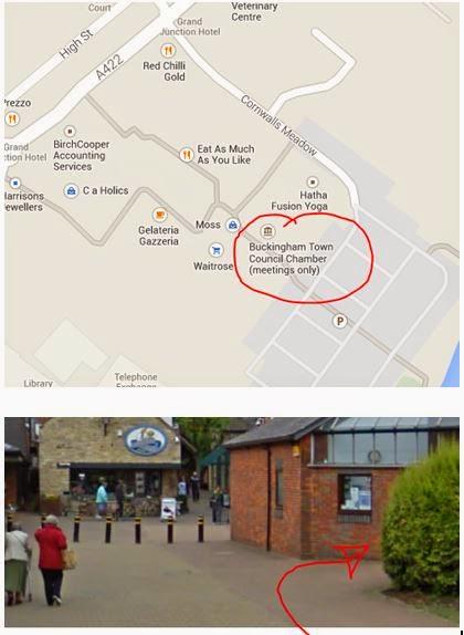 Buckingham Branch meeting place