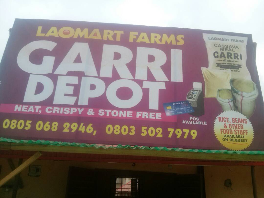 PROCESS YOUR CASSAVA IT GARRI A OUR FACTORY