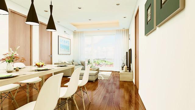 Thiết kế nội thất phòng khách Eco Green City