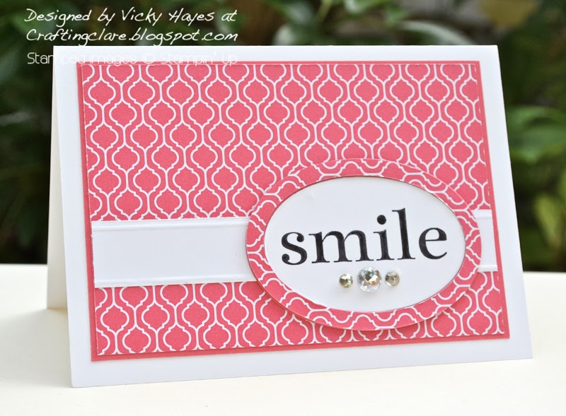 celebration card for join Stampin Up for £25 promotion