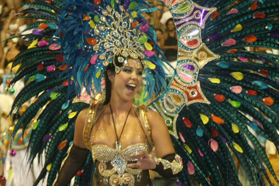 The Rio Carnival Attracts People From All Over The World.