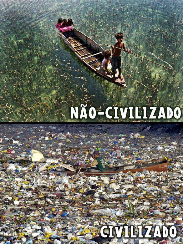 pessoas  civilizadas