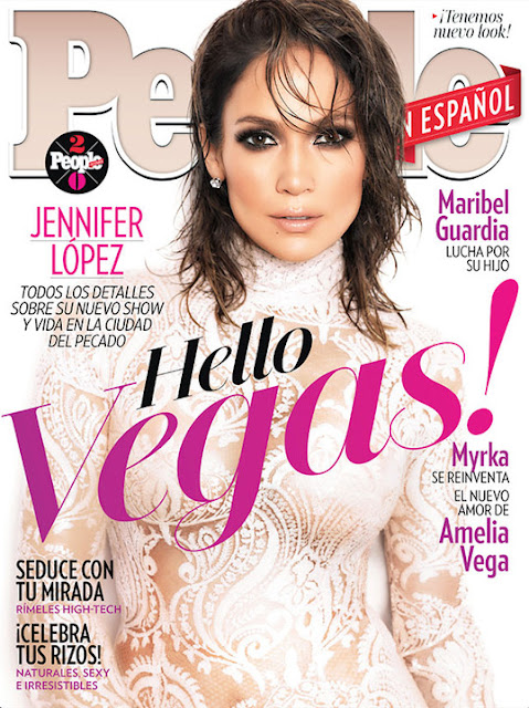 Actress, Singer, @ Jennifer Lopez - People February 2016