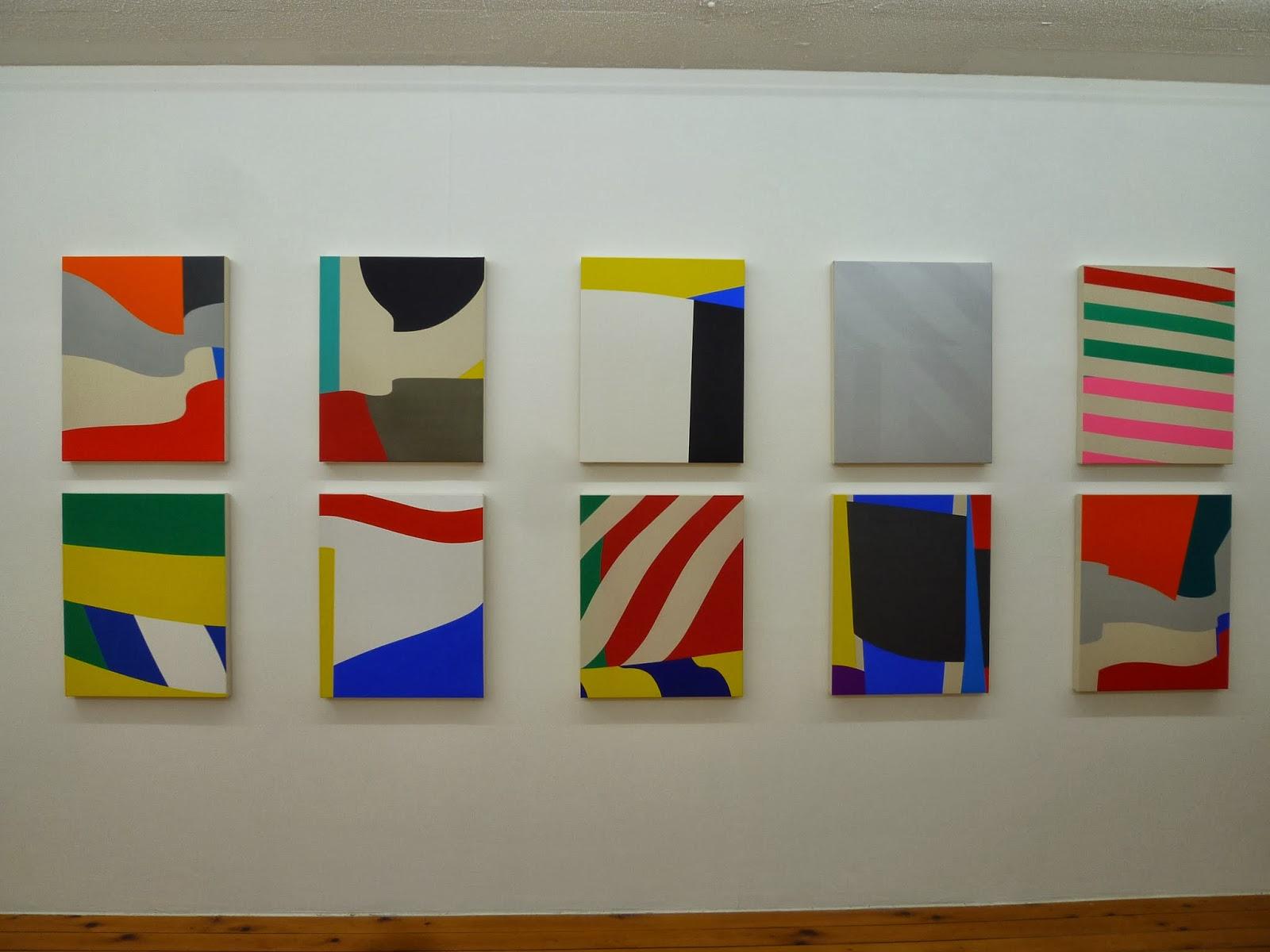 Line Color Form : Report color form exhibihiton by shunsuke imai japanese
