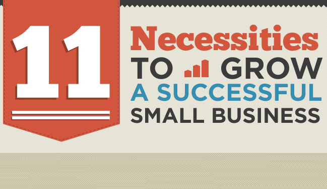 11 Necessities To Grow A Successful Small Business : image
