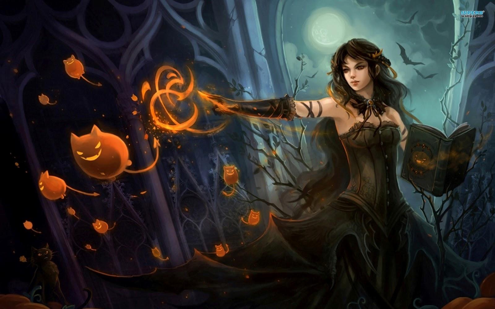 Most Inspiring Wallpaper Halloween Supernatural - witch-11747-1920x1200  Image_198343.jpg