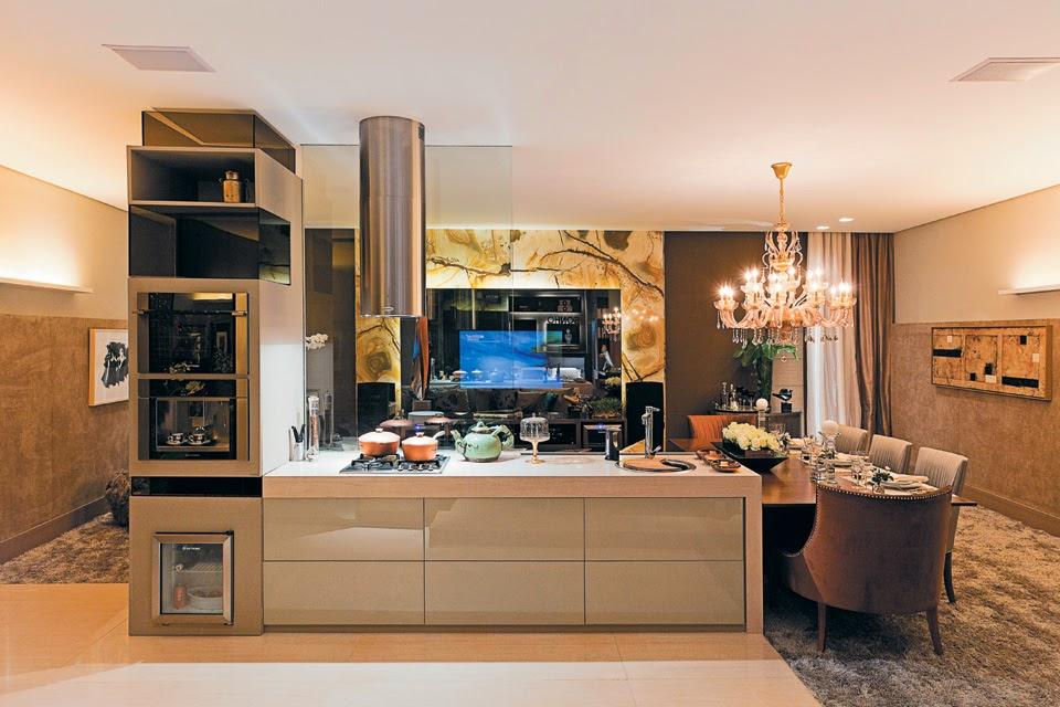 decoracao cozinha loft:20 Cozinhas Modernas e Sofisticadas – Inspire-se! – DecorSalteado