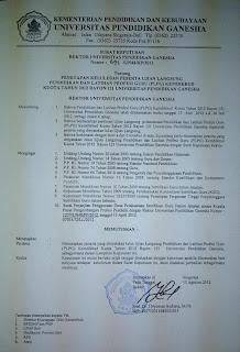 Pengumuman Hasil PLPG Rayon Undiksha Bali