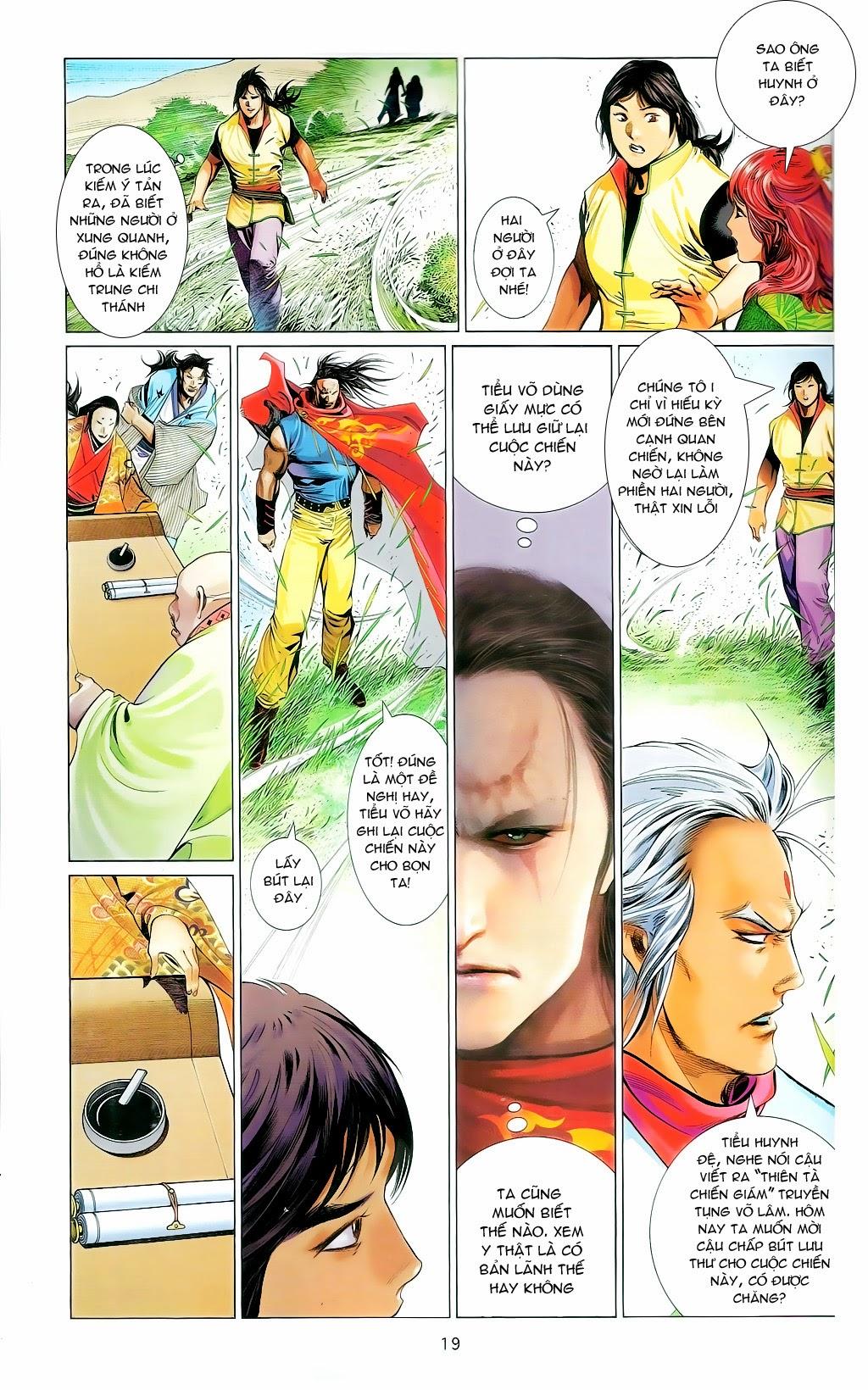 Phong Vân Chap 665 - Trang 18