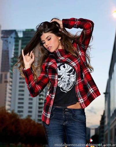 AF Jeans otoño invierno 2014. Moda invierno 2014.