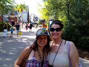 Patricia (from Germany) and I at Blizzard Beach. (img )