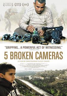 Ver 5 Broken Cameras Online Gratis (2012)