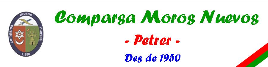 Comparsa Moros Nuevos Petrer