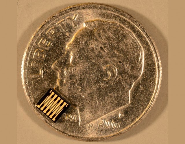 GE MEMS switch on a dime