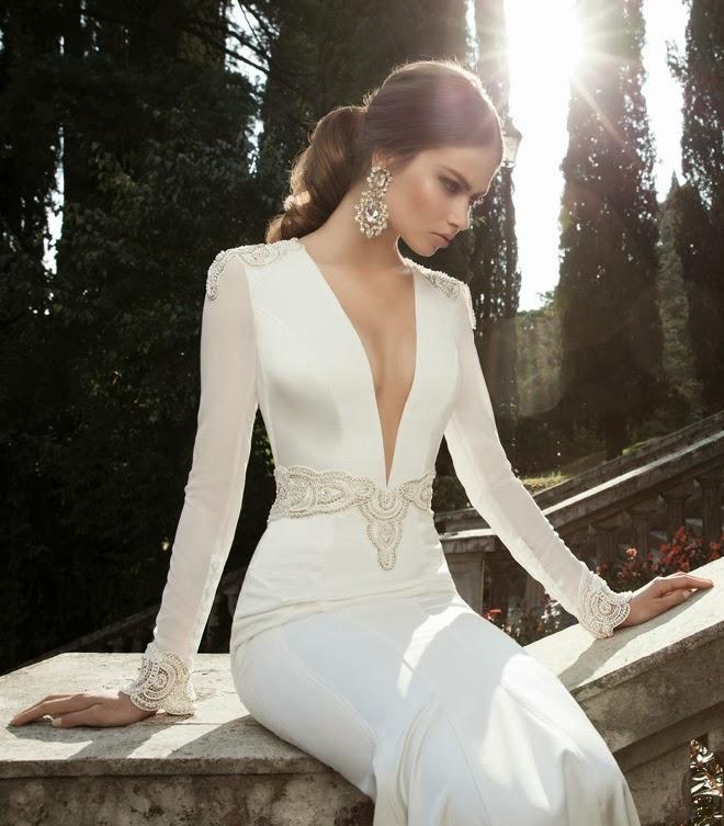 link camp wedding dress berta bridal winter 2014