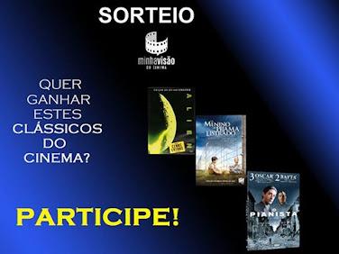 Sorteio de DVD's - Participe!
