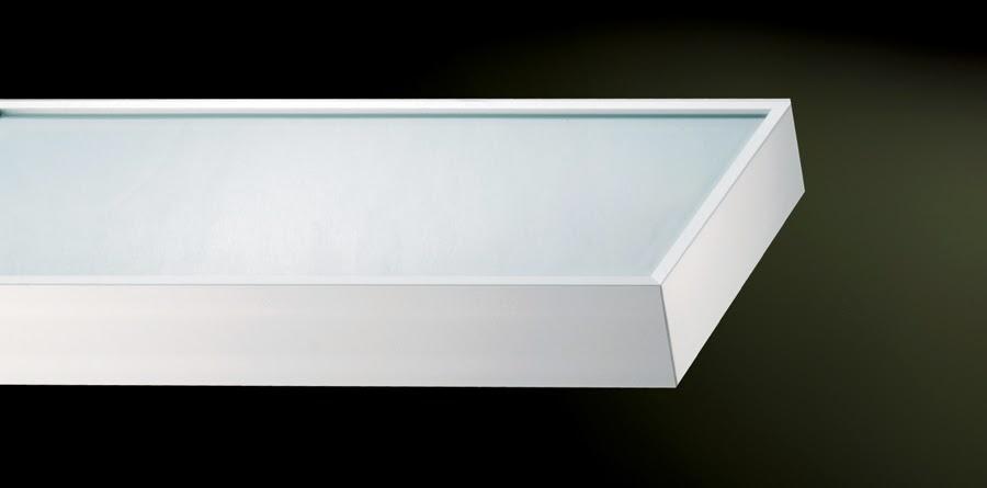 repisa estante balda prestatge luz iluminación cocina baño