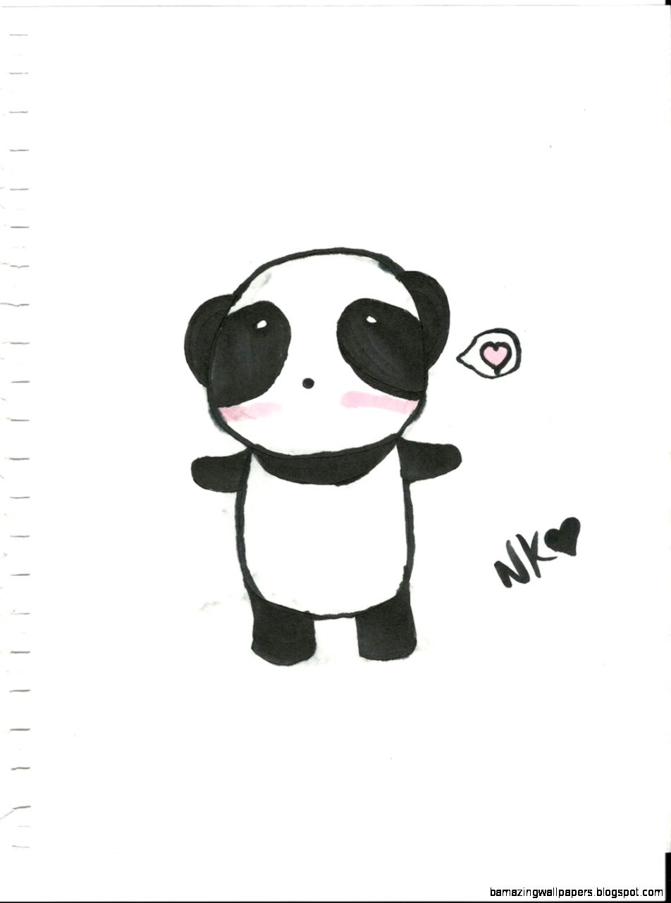 Cartoon Panda Tumblr  Pandas on Pinterest Panda Art Cute Panda