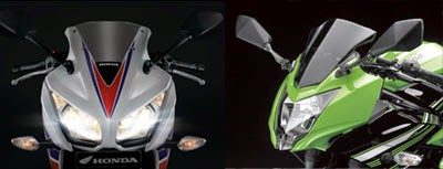 Headlamp All New Honda CBR250R & Ninja RR Mono