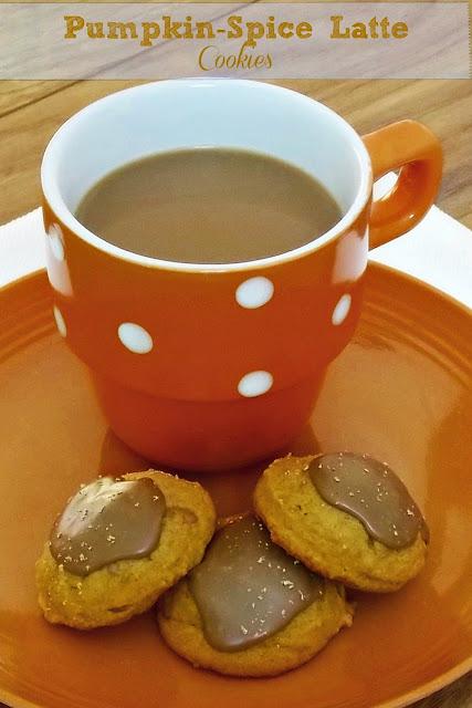 Pumpkin Spice Latte Cookies #cookies #pumpkin #coffee