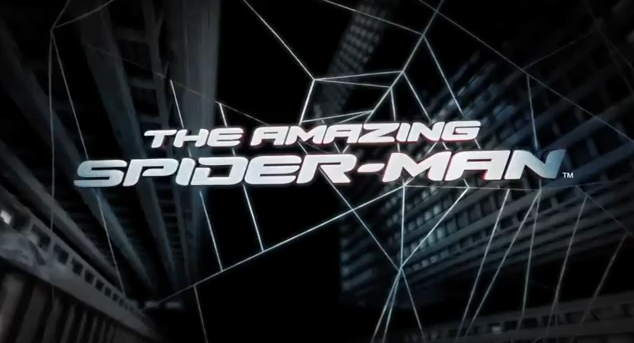 The Amazing Spider-Man Game 2012 Video Game Title from Beenox, Activision and Marvel Spider-Man Game for PC, Xbox 360 and PS3